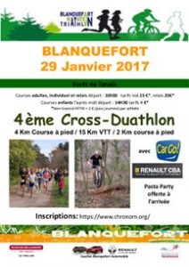 Cross duathlon